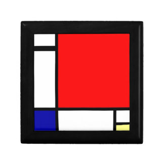 Piet Mondrian - Neoplastic Art Keepsake Box