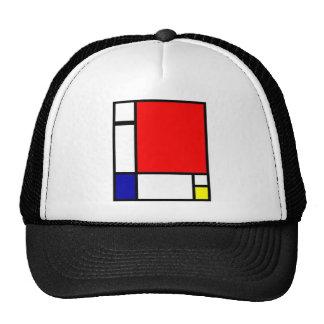 Piet Mondrian - Neoplastic Art Trucker Hat