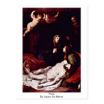 Pieta By Jusepe De Ribera Postcard
