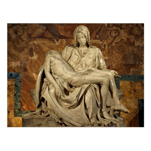 Pieta by Michelangelo Postcards
