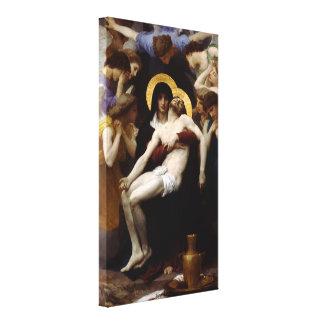 Pieta by William-Adolphe Bouguereau Canvas Print