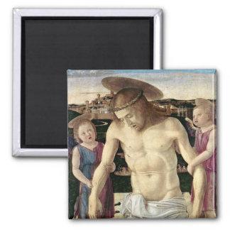 Pieta, c.1499 imán cuadrado