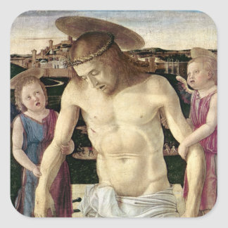 Pieta, c.1499 square sticker