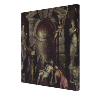 Pieta Canvas Print