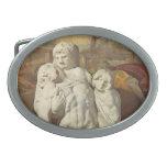Pieta de Miguel Ángel Palestrina Hebilla Cinturón Oval