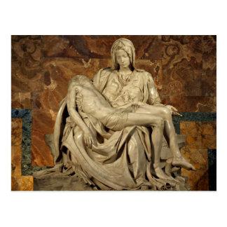 Pieta de Miguel Ángel Postal