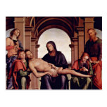 Pietà de Perugino Pedro (la mejor calidad) Postales