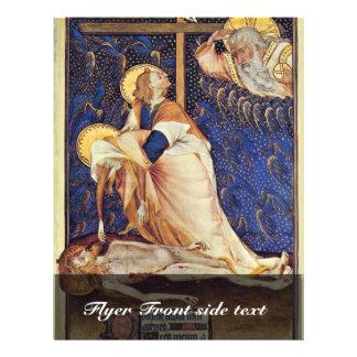 Pieta de Villeneuf-Les-Aviñón de Meister Der pi Tarjeta Publicitaria