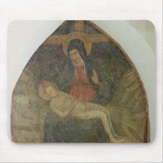 Pieta (fresco) mouse pad