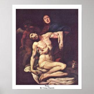 Pieta. Por Crespi Daniela Posters