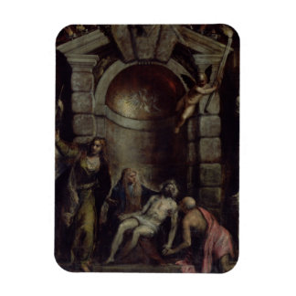 Pieta Rectangle Magnet
