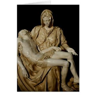 Pieta Tarjeta De Felicitación