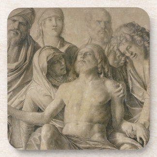 Pieta, The Dead Christ Drink Coaster