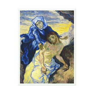 Pieta Vincent van Gogh fine art painting Canvas Prints
