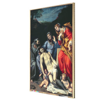 Pieta with St. Francis and St. Mary Magdalene, c.1 Canvas Prints