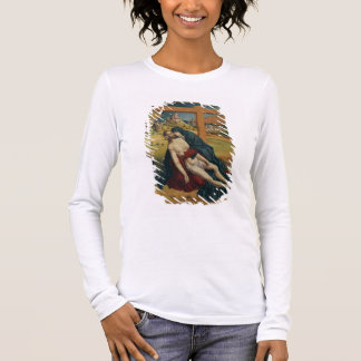 Pieta with Two Donors (oil on panel) Long Sleeve T-Shirt