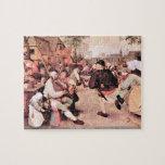 Pieter Bruegel - Barn Dance Puzzles