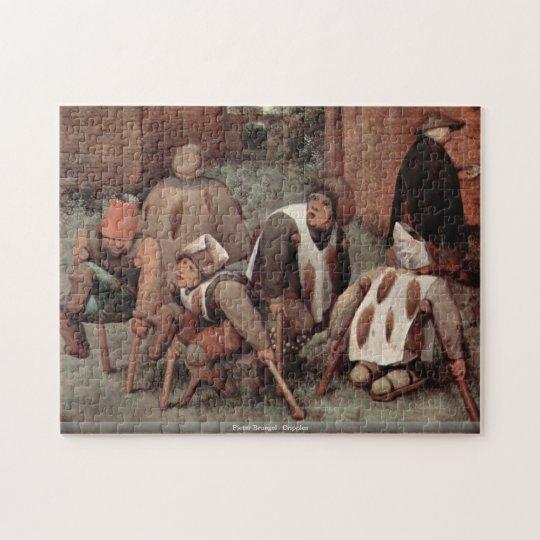Pieter Bruegel - Cripples Jigsaw Puzzle