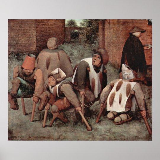 Pieter Bruegel-Cripples Poster