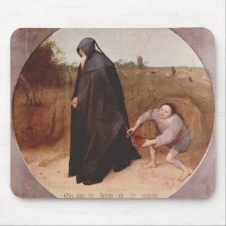 Pieter Bruegel el más viejo misántropo Alfombrillas De Ratón