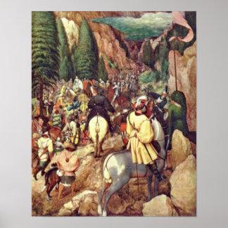 Pieter Bruegel Elder - Conversion of Saint Paul Posters