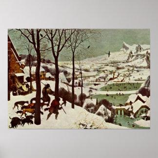 Pieter Bruegel Elder - The Hunters in the Snow Poster