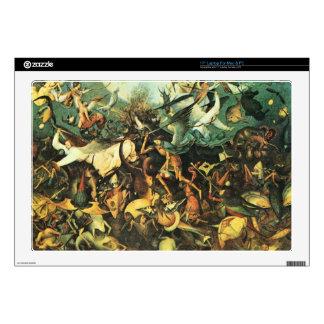 """Pieter Bruegel - Fall of the Angelsby Pieter Brueg Decals For 17"""" Laptops"""