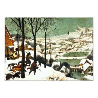 Pieter Bruegel Hunters in the Snow Invitations