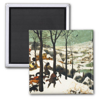 Pieter Bruegel Hunters in the Snow Magnet
