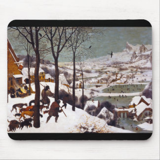 "Pieter Bruegel, ""Hunters in the Snow"" Mouse Pad"