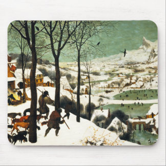 Pieter Bruegel Hunters in the Snow Mouse Pad
