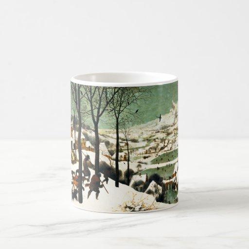 Pieter Bruegel Hunters in the Snow Coffee Mugs