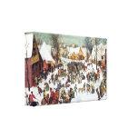 Pieter Bruegel - Infanticide in Bethlehem Gallery Wrap Canvas