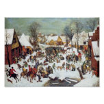 Pieter Bruegel-Infanticide in Bethlehem Posters