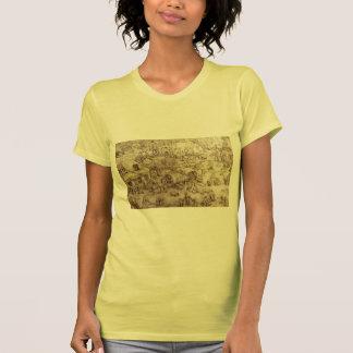 Pieter Bruegel la anciano la feria en Hoboken Camisetas