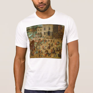 Pieter Bruegel la anciano - los juegos de los Camiseta