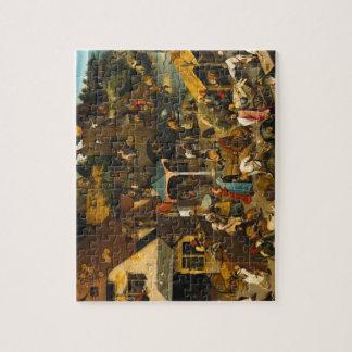 Pieter Bruegel la anciano - los proverbios Puzzle