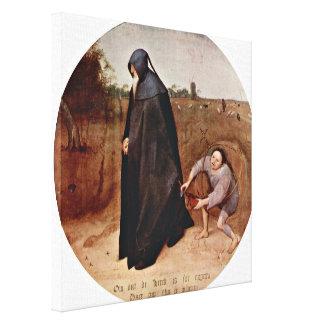 Pieter Bruegel la anciano - misántropo Impresion De Lienzo