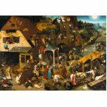 Pieter Bruegel la anciano - proverbios de Netherla Esculturas Fotograficas