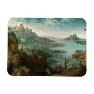 Pieter Bruegel - Landscape with flight into Egypt Magnet
