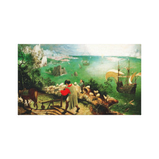 Pieter Bruegel Landscape with the Fall of Icarus Gallery Wrapped Canvas