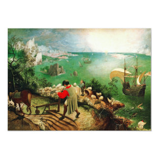 Pieter Bruegel Landscape with the Fall of Icarus Card