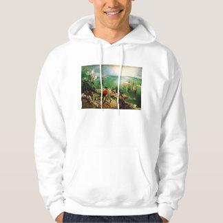 Pieter Bruegel Landscape with the Fall of Icarus Hoodie
