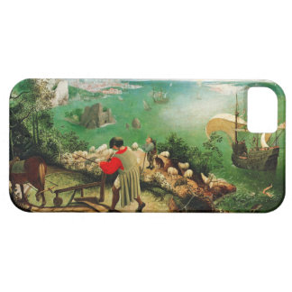 Pieter Bruegel Landscape with the Fall of Icarus iPhone 5 Covers