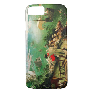 Pieter Bruegel Landscape with the Fall of Icarus iPhone 7 Case