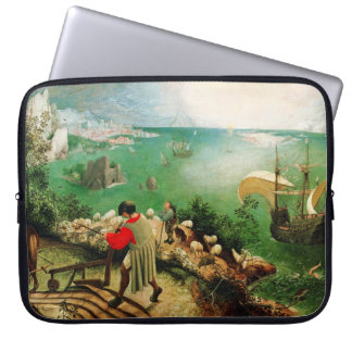 Pieter Bruegel Landscape with the Fall of Icarus Laptop Sleeve