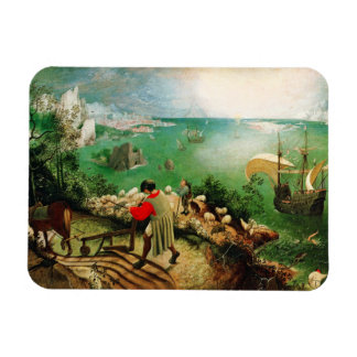 Pieter Bruegel Landscape with the Fall of Icarus Magnet