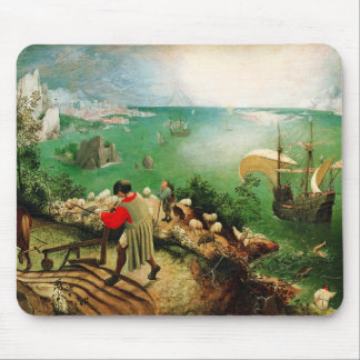 Pieter Bruegel Landscape with the Fall of Icarus Mousepads