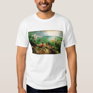 Pieter Bruegel Landscape with the Fall of Icarus T-Shirt