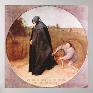 Pieter Bruegel-Misanthrope Poster